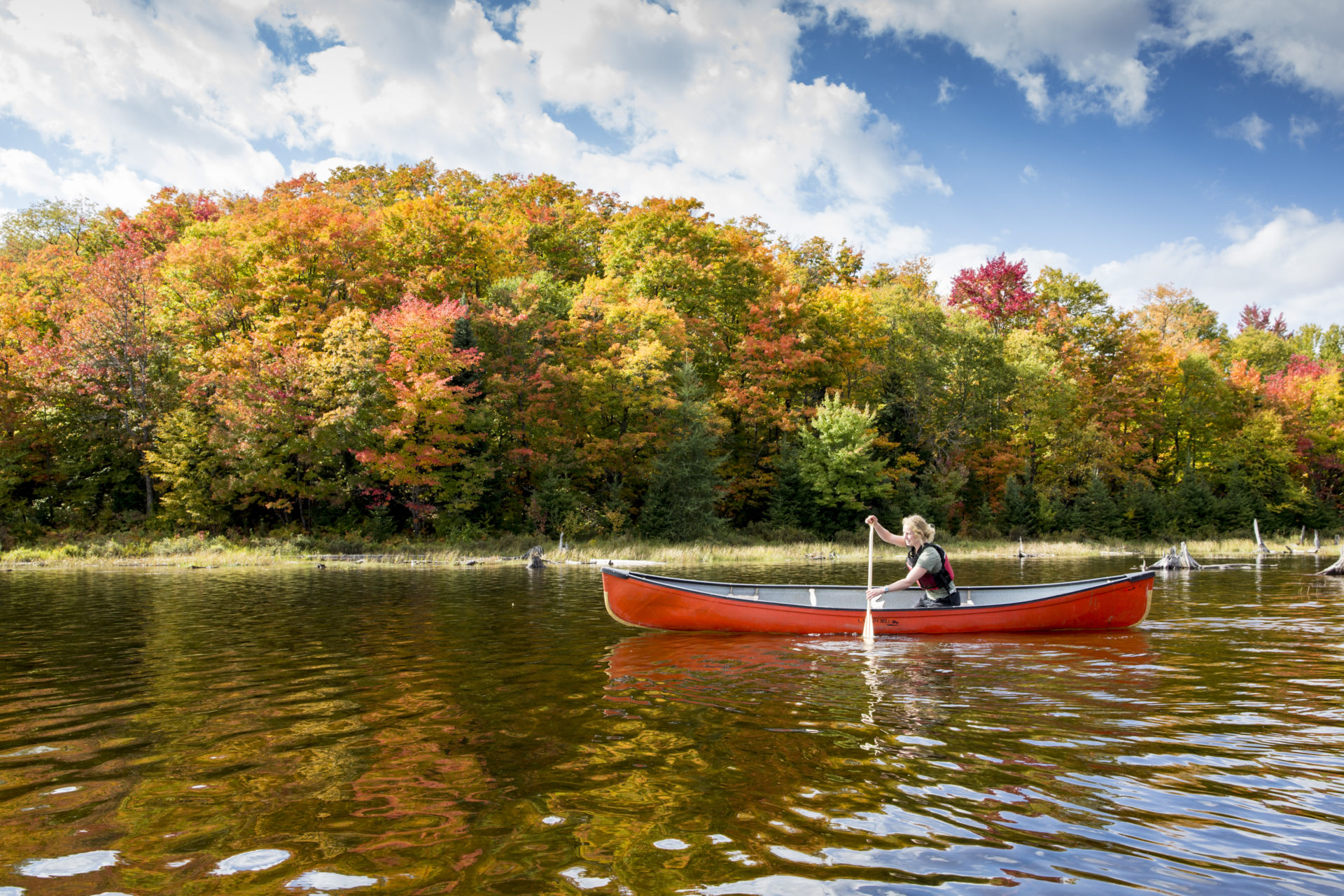 Best Ways to Experience Fall Colours in Muskoka
