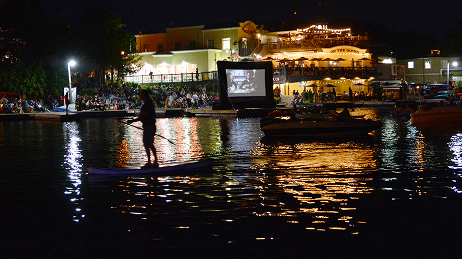 "Movie on the Docks - ""JAWS"""