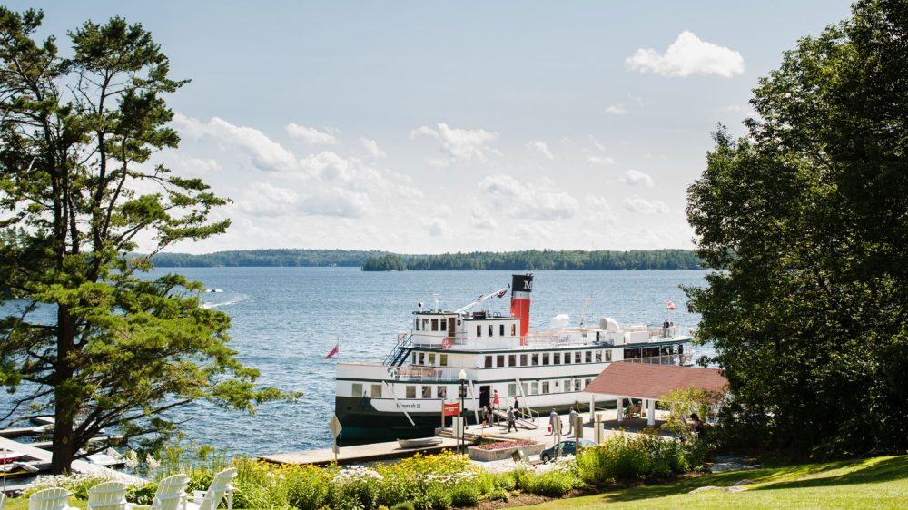 View the Lakes Muskoka Chair Tour