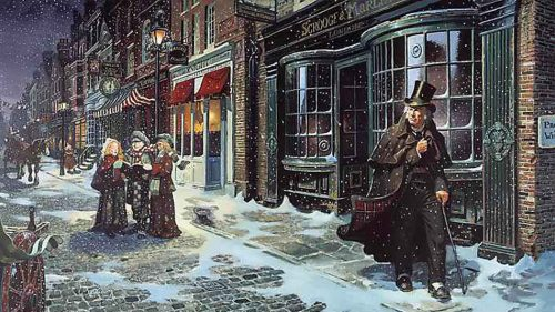 "Catch a staged reading of a holiday classic, ""A Christmas Carol"" by Charles Dickens"
