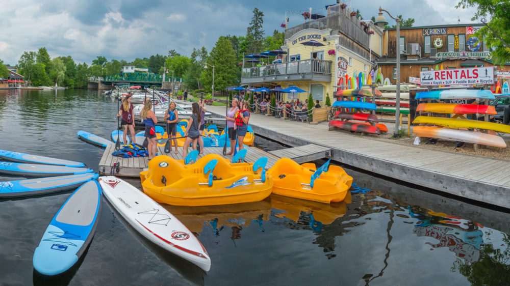 Algonquin Outfitters Paddle On Comedy Festival