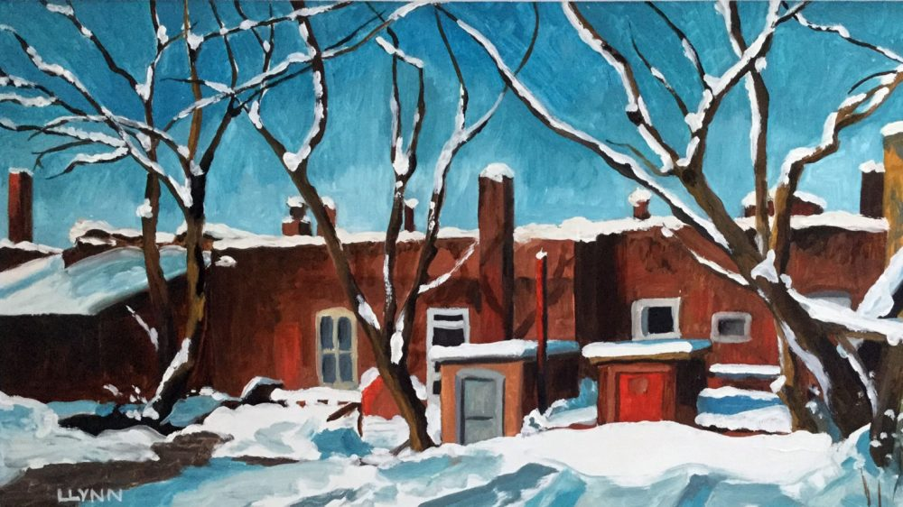 All About the Town: Paintings by Lynda Lynn
