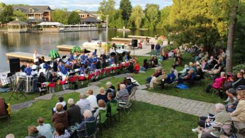 Christine Heron, Concerts on the Dock