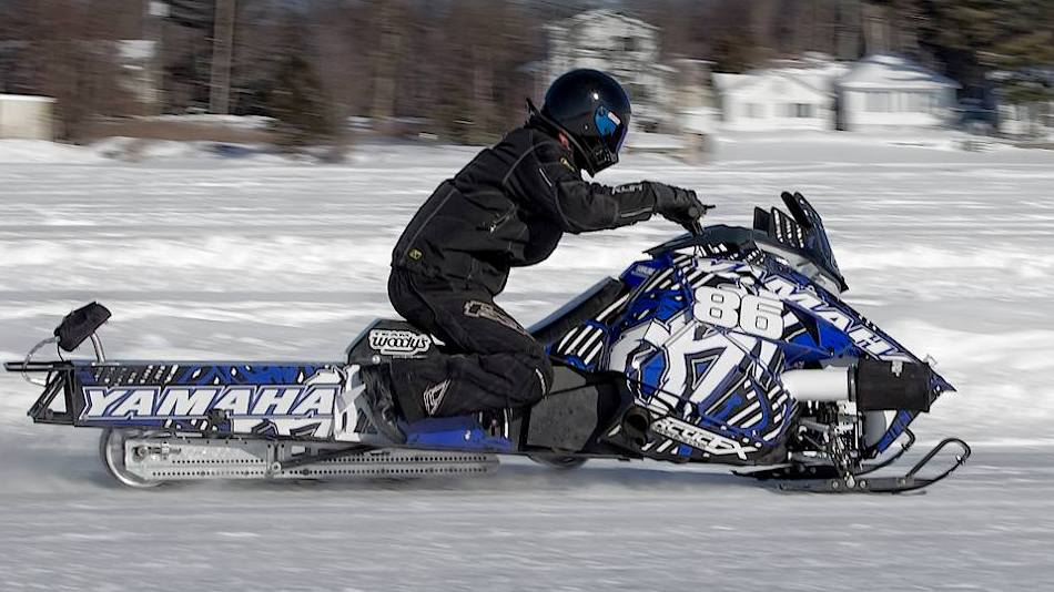North Bay Snowmobile Speed Runs