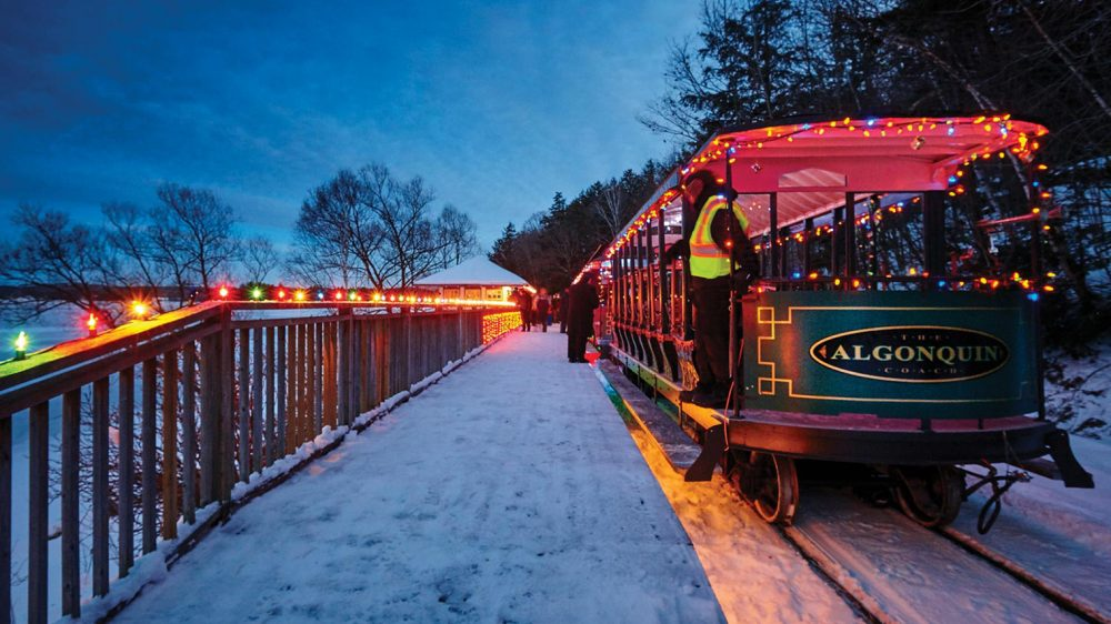 A Portage Flyer Christmas – Evening Train Ride to Santa