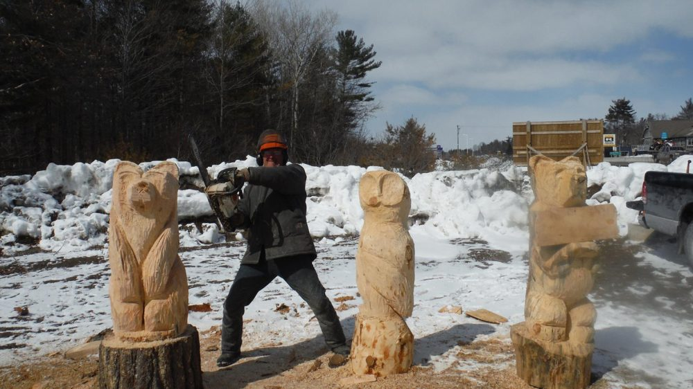 Washago carving event