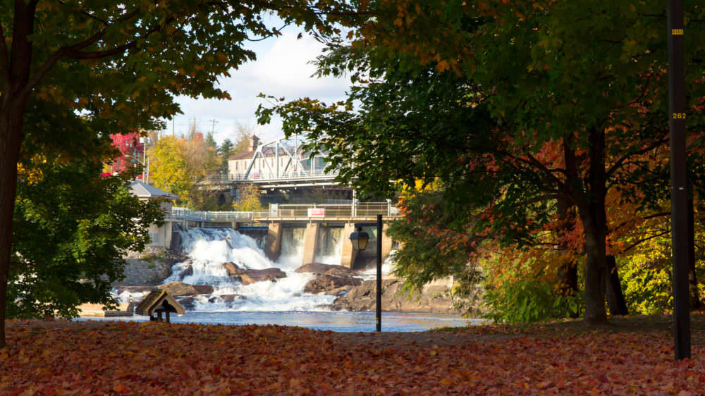 Chasing Waterfalls in Bracebridge
