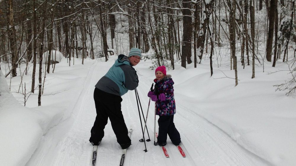 The Frost Centre Snowshoeing Trails
