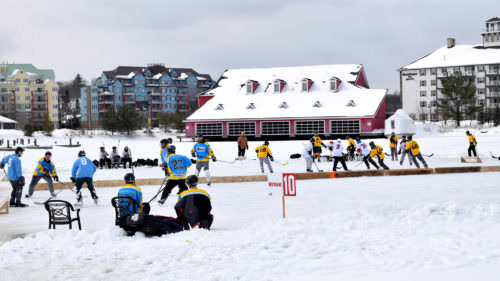 Barstool Sports Pond Hockey