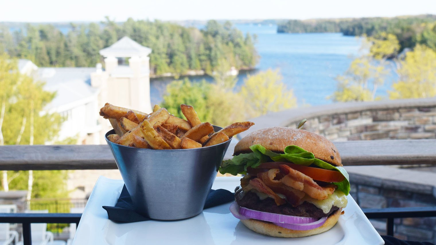 Celebrate National Hamburger Day In Muskoka