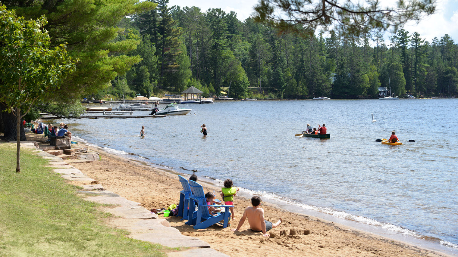 Beaches in Muskoka