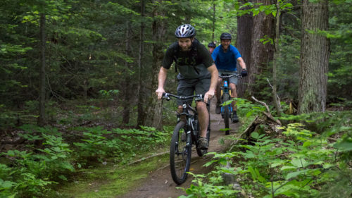 Ride the new Riverside Bike Park in Bracebridge