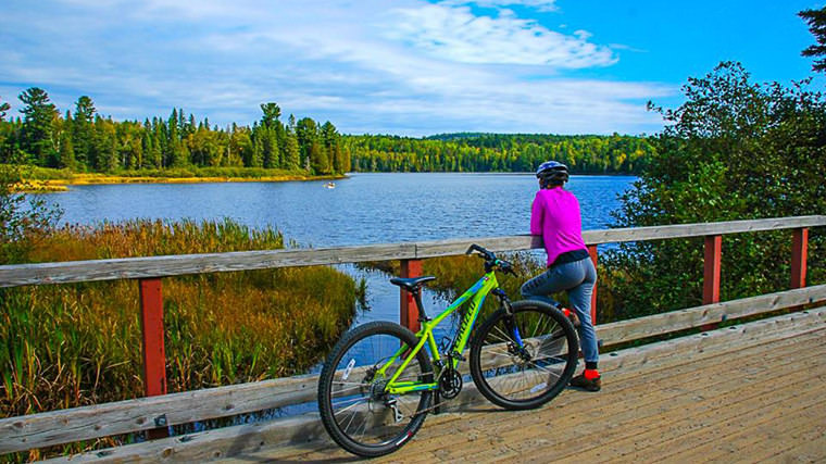 Algonquin Outfitters & Old Railway Bike Trail