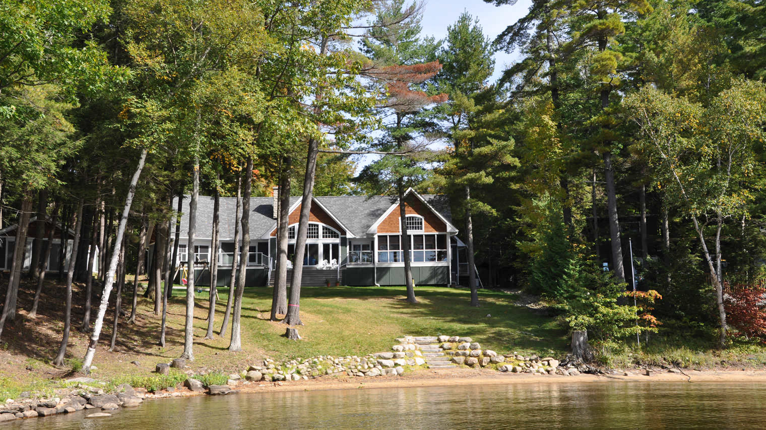 exterior rentals tobermory cabin cottage camping ontario rental