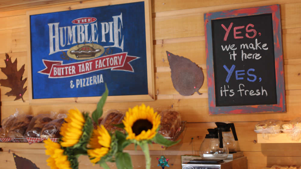 Humble Pie Butter Tart Factory & Pizzeria