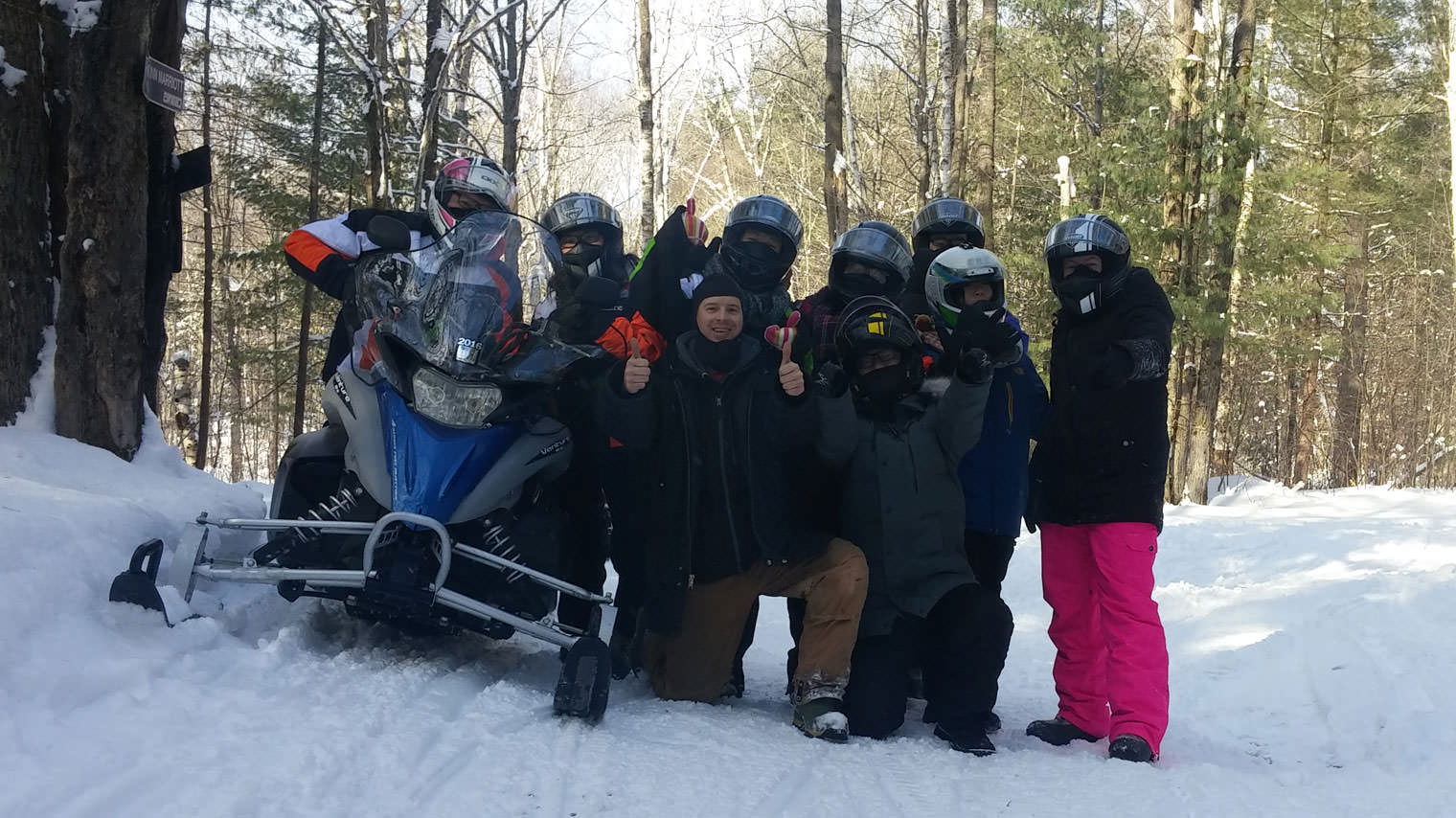 Snowmobile Tours in Ontario