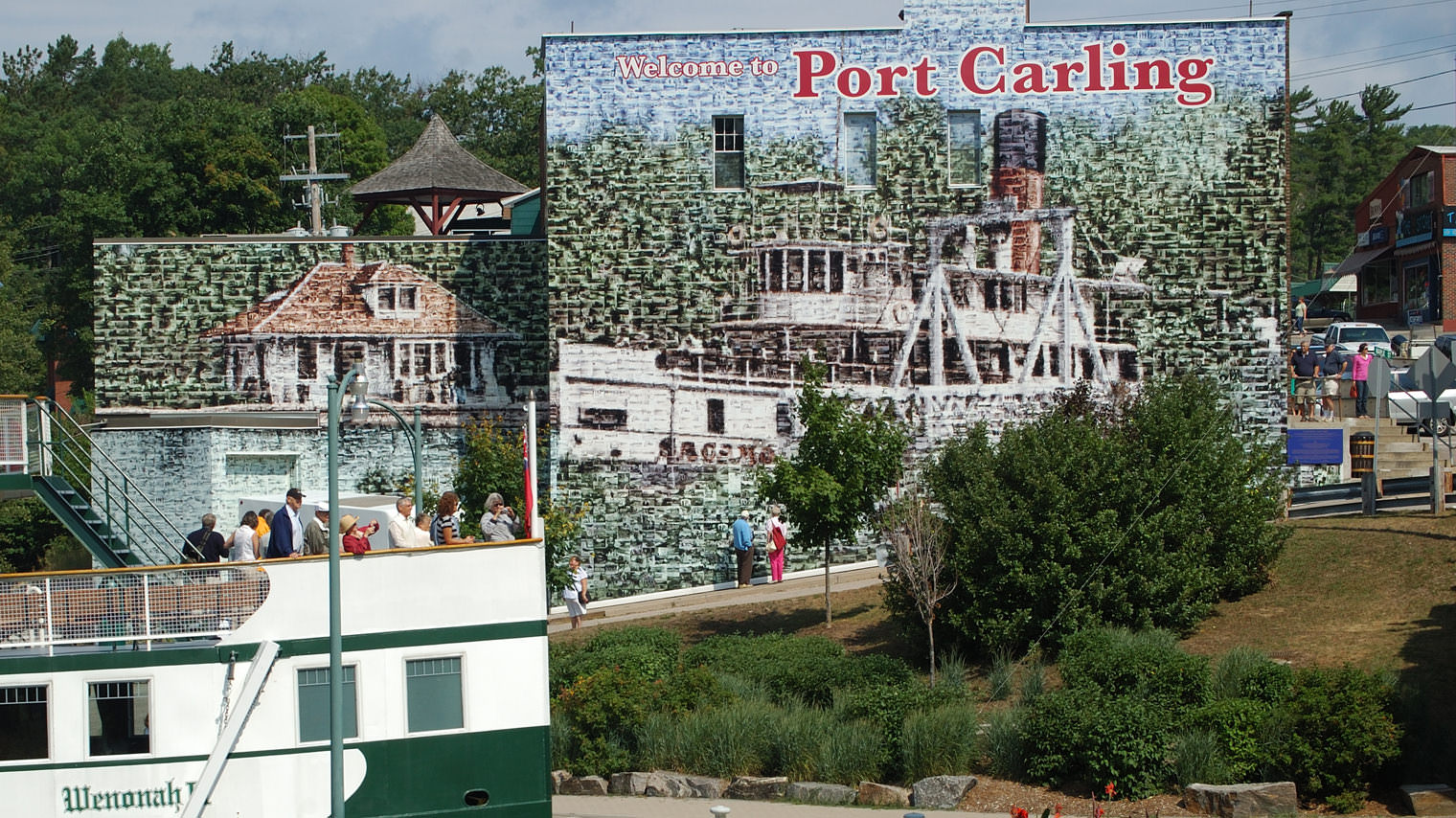 The Wall in Port Carling will Leave You in Awe