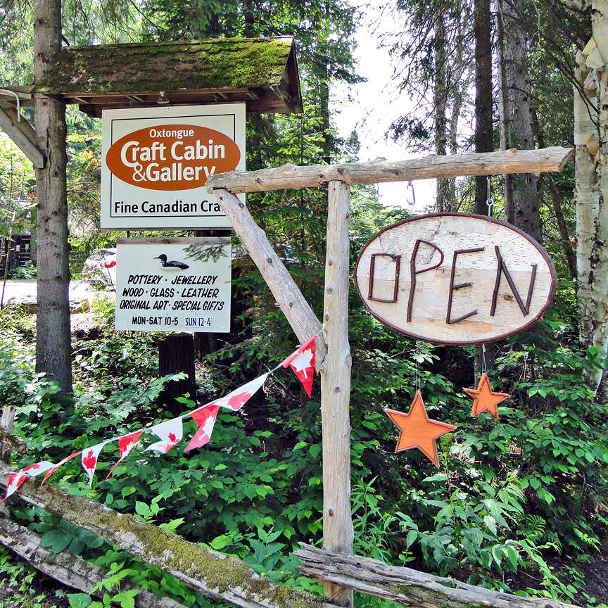 Garden Party at Oxtongue Craft Cabin & Gallery
