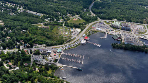 Relax, Stroll, Shop & Dine at the Trendy Muskoka Wharf