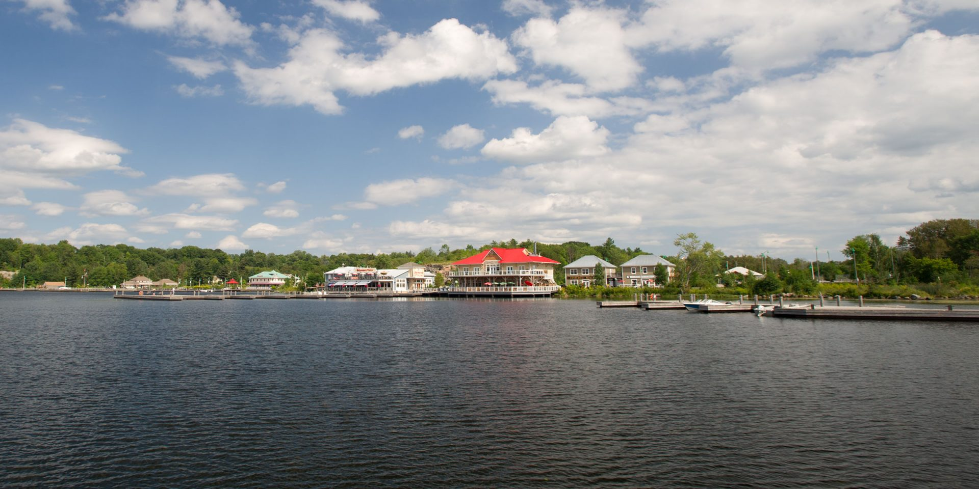 The Muskoka Wharf in Gravenhurst