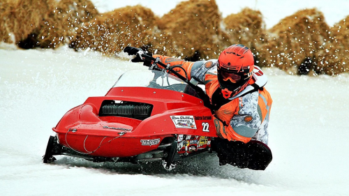 Sparrow Lake Cup - Oval Snowmobile Races