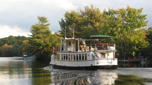 An Intimate Cruise and one of Muskoka's Hidden Gems