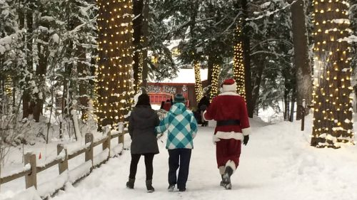 You're Invited to Santa's last Visit to Muskoka Before Christmas
