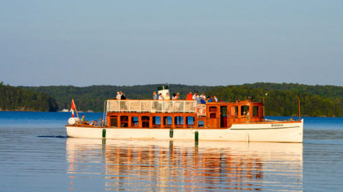 Cruise and Dine on Lake of Bays