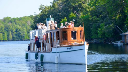 Cruise Lake of Bays aboard the Famed SS Bigwin