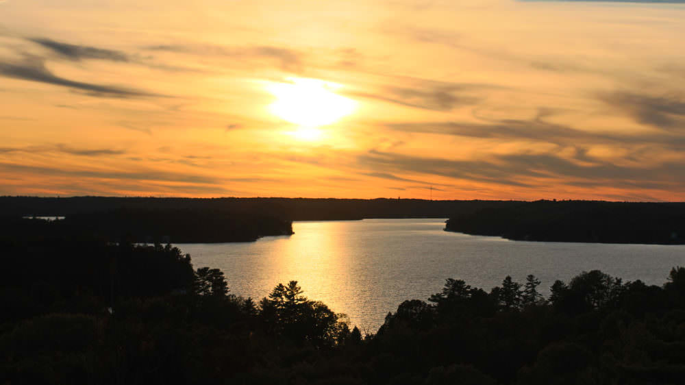 Take a Sunset Hike to Huckleberry Rock
