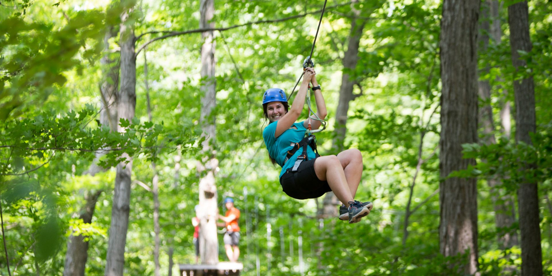 Take a Zip Lining and Aerial Adventure in Muskoka