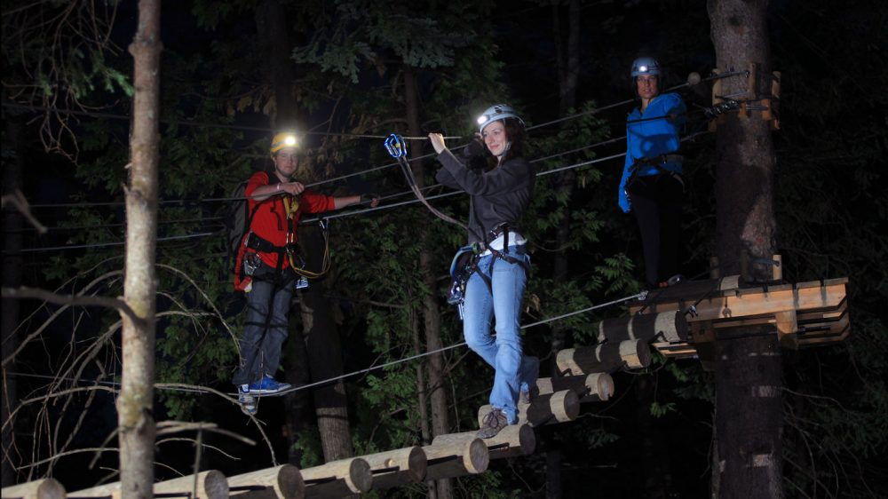 More Ways to have Fun at Huntsville's Treetop Trekking