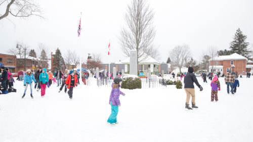 Memorial Park Winter Village