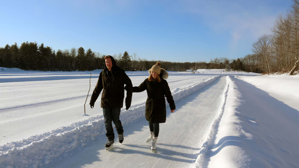 1.2km Cranberry Ice Trail