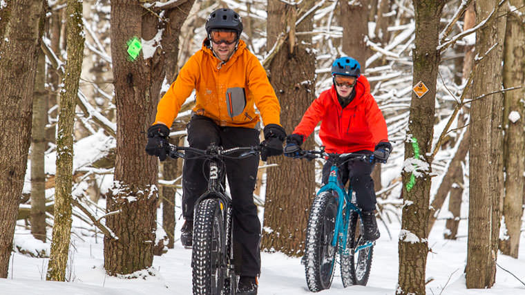 Go Biking this Winter in Muskoka